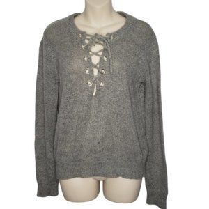 FOREVER 21 grey pullover sweater large
